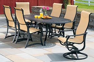Tubular Aluminum Patio Furniture
